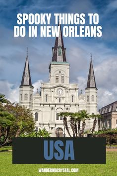 haunted places in New Orleans, things to do in New Orleans, Spooky things to do in New Orleans, ghost tours in the French Quarter, things to do in the french quarter New Orleans, French Quarter history, tours in New Orleans, cemeteries in New Orleans, Voodoo history in New Orleans, Marie Laveau's House of Voodoo, Voodoo Queen of New Orleans, things to do in NOLA, wanderingcrystal, haunted places to visit in New Orleans, vampires in New Orleans, St Louis Cemetery #NewOrleans #DarkTravel #USA St Louis Cemetery, Stuff To Do, Things To Do, Marie Laveau, Louisiana Usa, New Orleans Travel, Ghost Tour, Haunted Places, French Quarter