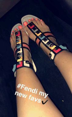 fashion, sandals, and india westbrooks image Stylish Sandals, Cute Sandals, Slide Sandals, Cute Shoes, Dream Shoes, Fendi, Gucci, Shoe Closet, Beautiful Shoes