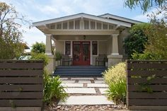 """""""california bungalow"""" front yard - Google Search"""