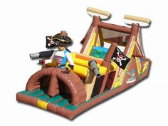 Find Backyard Pirates Obstacle? Yes, Get What You Want From Here, Higher quality, Lower price, Fast delivery, Safe Transactions, All kinds of inflatable products for sale - East Inflatables UK