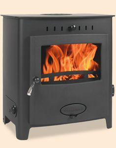 Aarrow Stratford Eco 9 HE Multi-fuel Wood-burning Boiler Stove, Aarrow Multifuel Stoves, by Aarrow Multifuel Stoves, The Aarrow Stratford Eco 9 HE Multi-fuel Wood-burning Boiler Stove is a true powerhouse at the heart of any central heating system. Boiler Stoves, Wood Fuel, Multi Fuel Stove, Log Burner, Curved Lines, Curved Glass, Central Heating, Wood Burning, Living Area