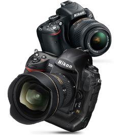 a DSLR camera