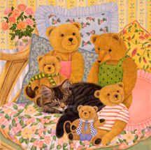 """""""Teddy Bear Friends"""" by anne mortimer"""