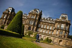 The Bowes Museum in the Durham Dales