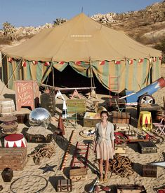 the new anthropologie catalog rented their props from the same place we did for CIRQUE DU SO LAME almost a year ago! Old Circus, Dark Circus, Circus Art, Night Circus, Circus Theme, Circus Birthday, Circus Tents, Creepy Circus, Circus Cakes