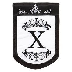 Evergreen Enterprises Regalia Monogram House Flag - 151074X