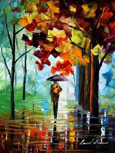 Leonid Afremov - MORNING RAIN