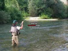 Pesca a mosca in Tronto-Fly Fishing in River Tronto in Ascoli