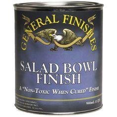 Salad Bowl Finish