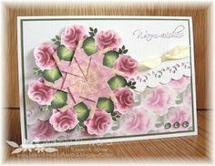 Mainly Flowers Independent Stampin' Up! Demonstrator Joanne Gelnar: Circle of Roses