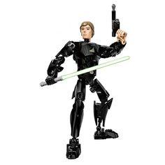 NEW KSZ 712-4 Star Wars Luke Skywalker Robot  Building Blocks Toys Bricks Action Figures Compatible with legoe