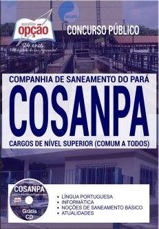 Concurso para Cargos de Nível Superior COSANPA 2017 Apostila