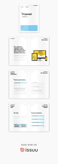 Project Proposal Template Stationery Templates Pinterest
