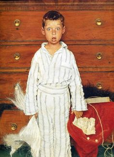 Norman Rockwell The Discovery Close Up