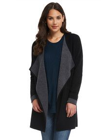 Womens Merino, Keep warm in this V-neck jumper made from Woolmark accredited merino wool. Keep Warm, Knitwear, Jumper, North South, Sweaters, Pocket, Shopping, Tops, Women
