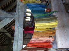 Beautiful hand dyed yarns
