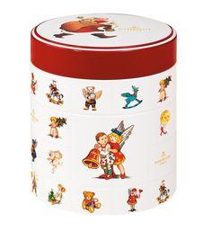 Niederegger Christmas Tin with Marzipan Classics – 250 oz Marzipan, Tin Boxes, Dose, Tins, Antiques, Classic, Christmas, Posters, Decor