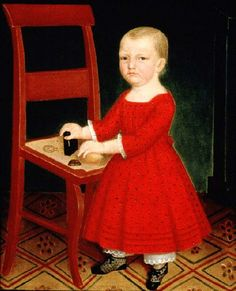 It's About Time: 19C American Folk Art - Children by Unknown Artists
