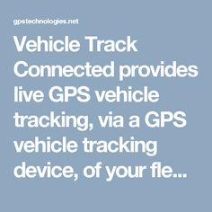 vehicle tracking device iphone