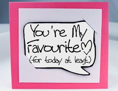 Valentines Day. Funny Love You Card. Valentines Day Card. Card for Her.. $ 3.25, via Etsy.