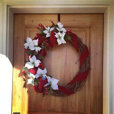 Large Christmas Wreath $65   https://www.facebook.com/WreathsbyKasy/