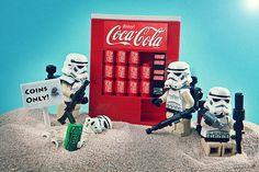 LEGO Coca Cola Machine.