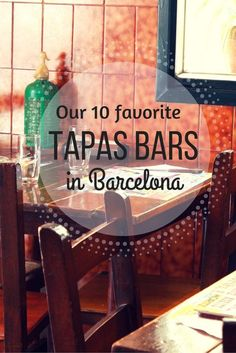 Food Tours- Tapas in Barcelona are everywhere and the choices can sometimes be daunting! Check out our top ten favorite tapas bars in Barcelona! Barcelona Hotel, Barcelona Food, Barcelona Travel, Barcelona Restaurants, Barcelona 2016, Shopping In Barcelona, Chicago Restaurants, European Vacation, European Travel