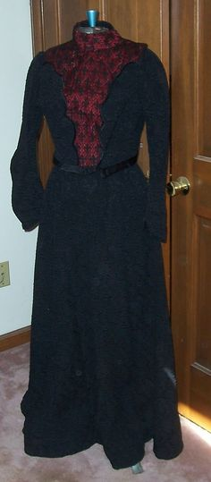 Two Piece Larger Size Victorian Dress