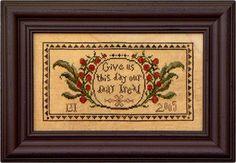 Our Daily Bread from La-d-da cross stitch designs