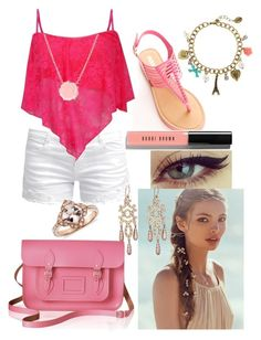 """""""summer style"""" by ladybug-as-sassy ❤ liked on Polyvore"""