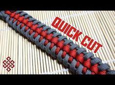 Raid Knot Paracord Bracelet Tutorial Quick Cut - YouTube