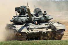 Russia's T-90A tank (Russian Defense Ministry image)