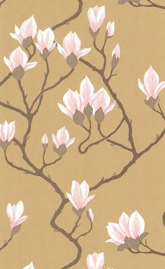 Papier peint Magnolia - Cole and Son
