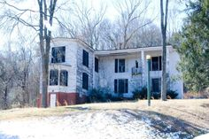 """Paranormal Perception Crew (PPC).  This house is near where I live.  I am drawn to it, to the land around it, and the old mill across the road.  I hate the way the house is allowed to fall apart.  Haunted or not, it is beautiful and needs to be rescued from """"progress""""."""
