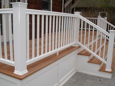 mahogany wood deck -
