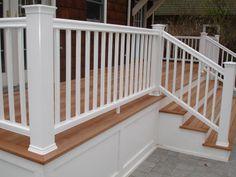 mahogany wood deck -