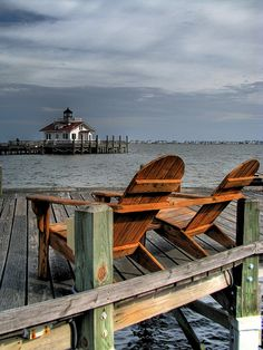 Roanoke Marshes Lighthouse. Manteo, NC I would love to be sitting right here right now