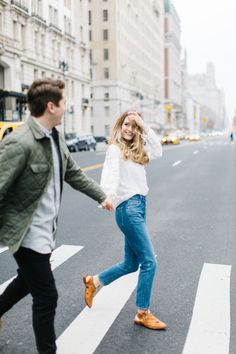 These NYC engagements are set in the Upper west side, DUMBO brooklyn, and Central Park.