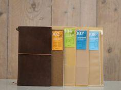 Midori Traveller's Notebook - Miscellaneous Selection #1 BROWN