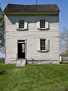 Shaker Village by David Cornwell, at Shakertown Village, Kentucky