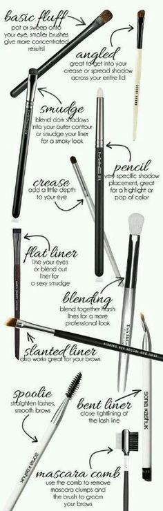 makeup: brushes