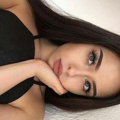 Image about girl in Make-up & Beauty by Sarah Ghanem Makeup Goals, Makeup Inspo, Makeup Inspiration, Makeup Tips, Makeup Ideas, Style Inspiration, Beauty Make-up, Beauty Hacks, Hair Beauty