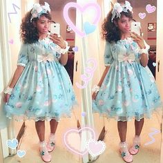 Happy ILD! I didn't feel too well today so I couldn't celebrate but this is what I would've wore! Hopefully I can wear this coord out sometime soon!