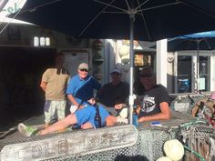 Live Bait Lounge at Key West Bait and Tackle | Enjoying a cold beer. And well..another cold beer.