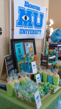 Monster university  Birthday Party Ideas | Photo 9 of 11
