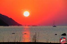 Obiettivo Pesaro: tramonto infuocato http://vivere.biz/amsF