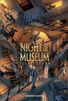 Night at the Museum 3: New Poster for Secret of the Tomb Released