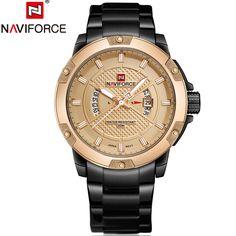 7536cb8010d Homens top marca de luxo militar relógios homens de aço cheio de esportes  dos homens de