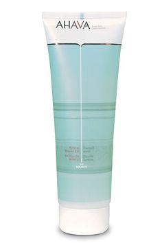 Ahava mineral shower gel (Best body wash for sensitive skin!)