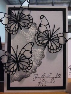 MEMORY BOX DIES, VIVIENNE BUTTERFLY - vellum butterflies - bjl